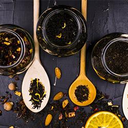 Análisis de té, té de hierbas y té de frutas